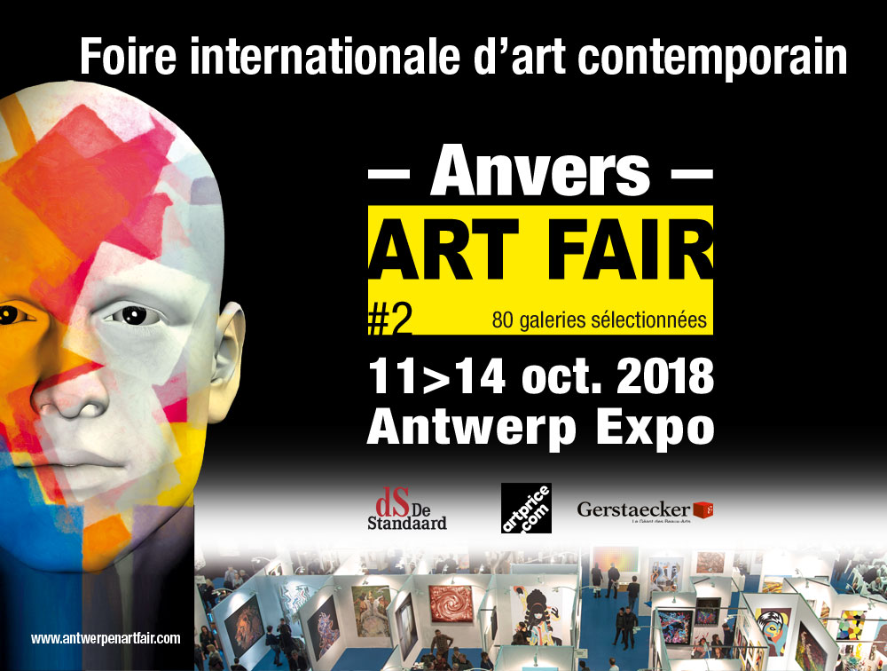 Anvers ART FAIR 11-12-13-14 octobre 2018