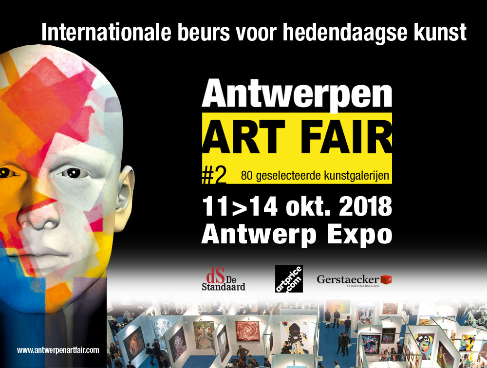 Antwerpen ART FAIR 11-12-13-14 oktober 2018