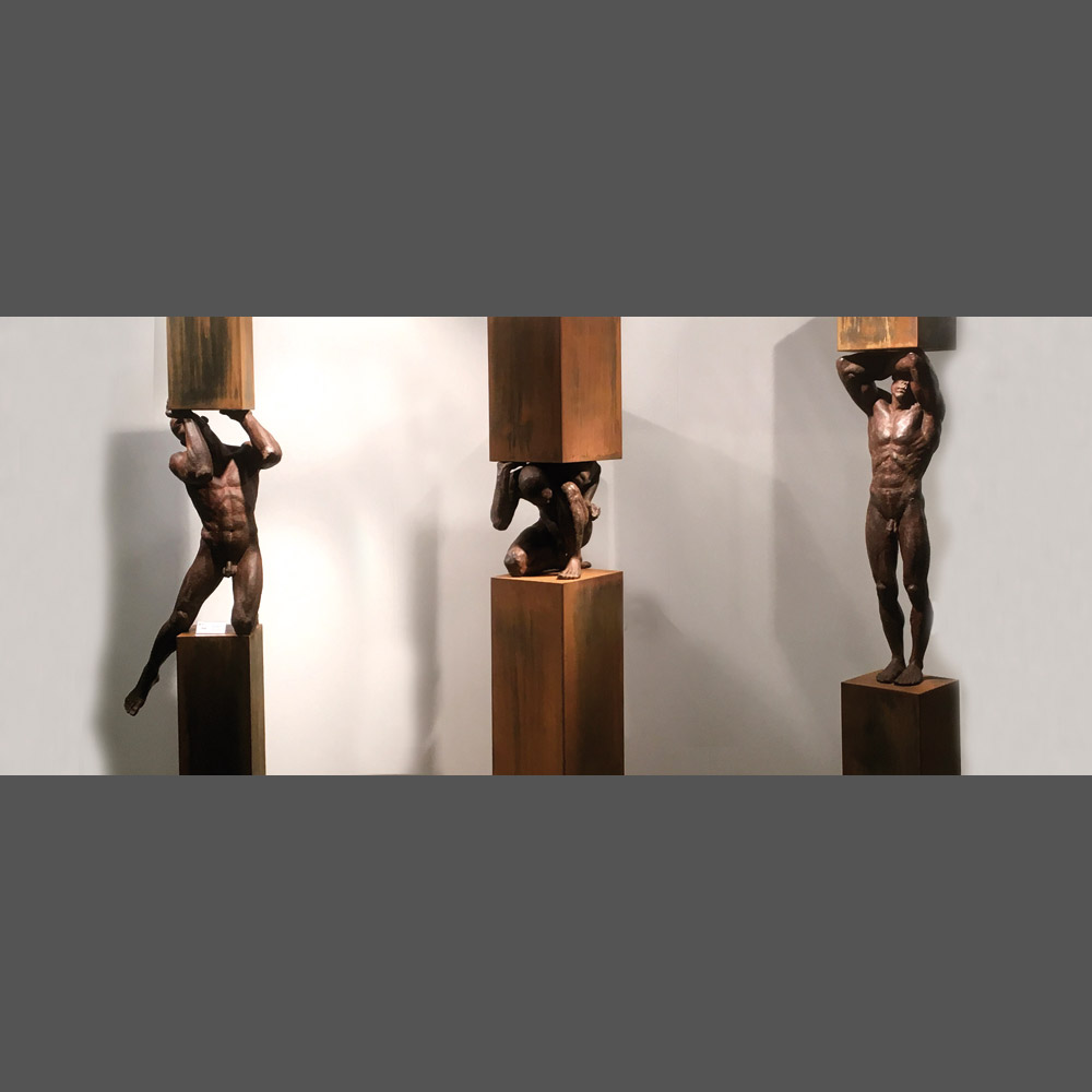 Philippe Timmermans, « Titans » 185 cm (base included)